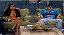 Big Brother 10 - Angie is evicted