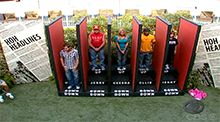 Big Brother 10 HoH Competition - Big Brother Headlines