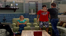 Big Brother 10 - Memphis wins the veto