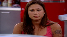 Big Brother 10 - Angie is nominated