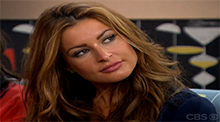Big Brother 15 - Elissa Reilly nominated by America