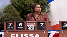 Big Brother 15 - Elissa Reilly wins the Power of Veto