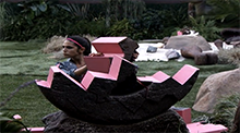 Big Brother 15 Veto Competitin - Back in Time