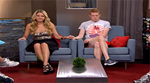 Big Brother 15 - Aaryn Gries evicted