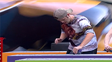 Big Brother 15 - Judd wins the Power of Veto