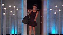 Brittany Martinez is evicted - Big Brother 16