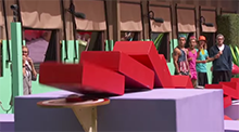 Domino Effect Battle of the Block - Big Brother 16