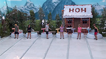 Sloppy The Snowman HoH Competition - Big Brother 16
