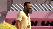 Big Brother 16 Donny Thompson wins the Power of Veto