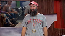 Donny Thompson Power of Veto - Big Brother 16