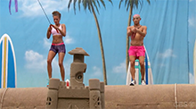 Big Brother 16 HoH Competition - Go Fly A Kite