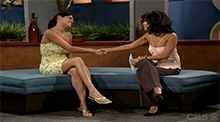 Big Brother 6 Sarah and Julie Chen