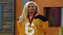 Janelle with the Power of Veto - Big Brother 6