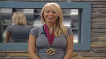 April - Big Brother 6 - Power of Veto