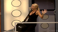 April evicted from the Big Brother 6 house