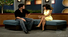 Janelle and Michael nominated. Michael was evicted. Michael with Julie Chen.