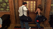 Allison and Ryan fake eviction Big Brother 9