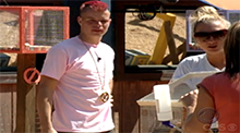 James Zinkland wins the Power of Veto Big Brother 9