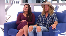 Cass and Tim - Big Brother Canada 4